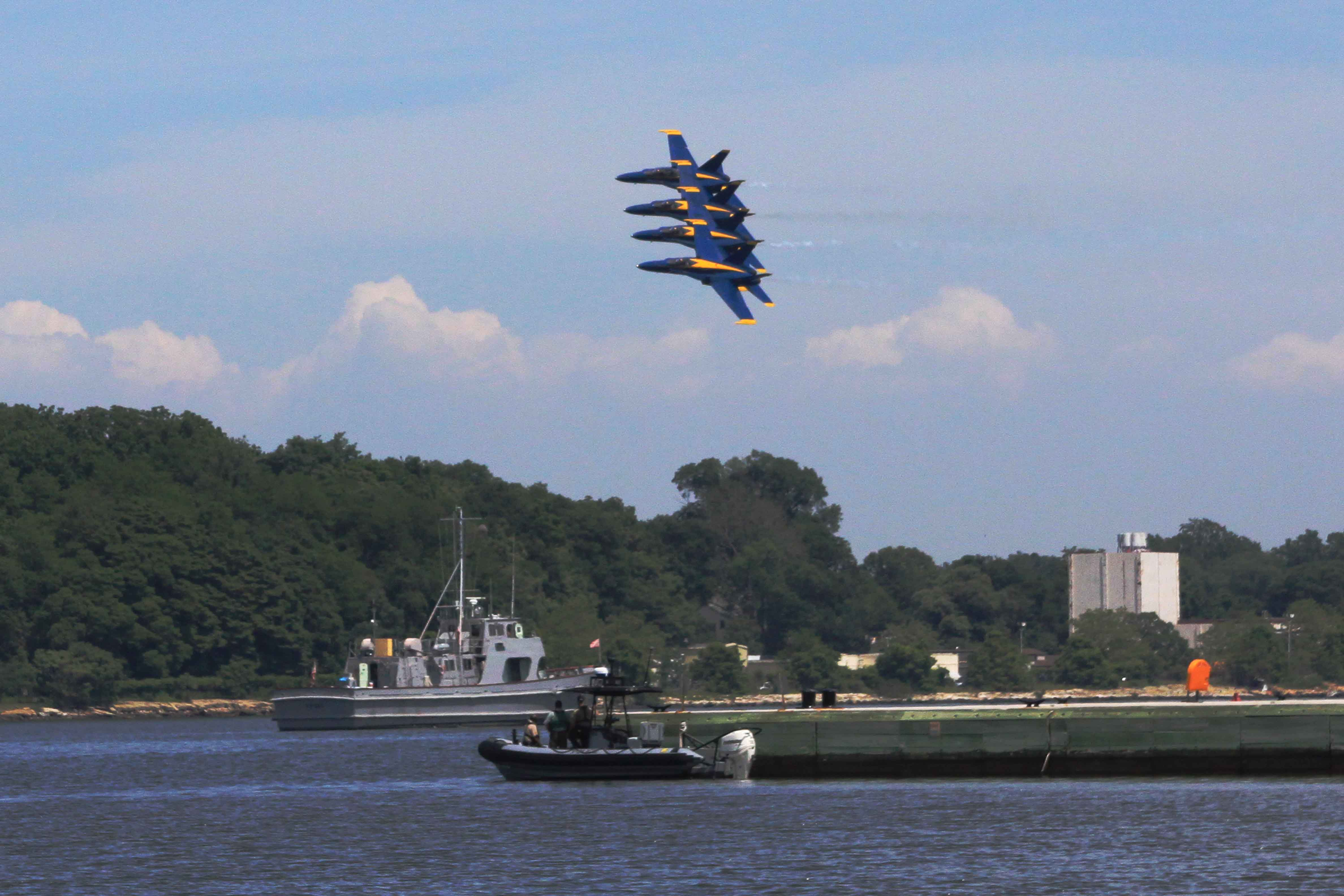 Blue Angels in Annapolis