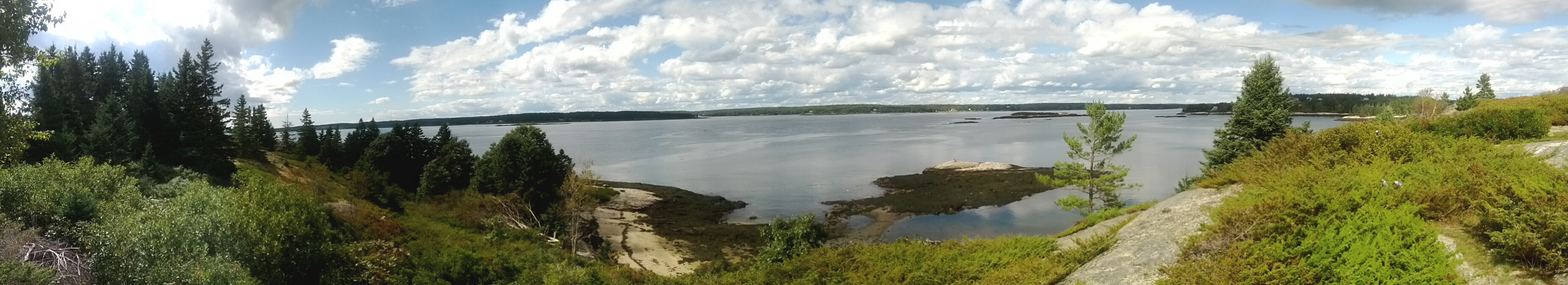 Sheepscot River from Boston Island