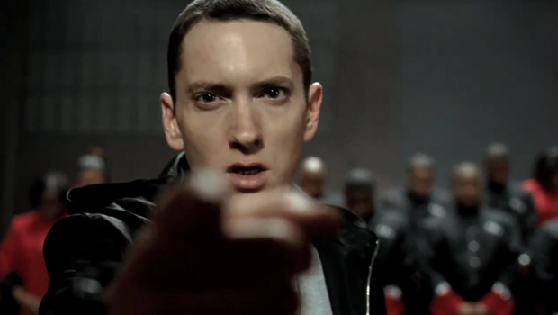 Eminem in the Chrysler Super Bowl ad