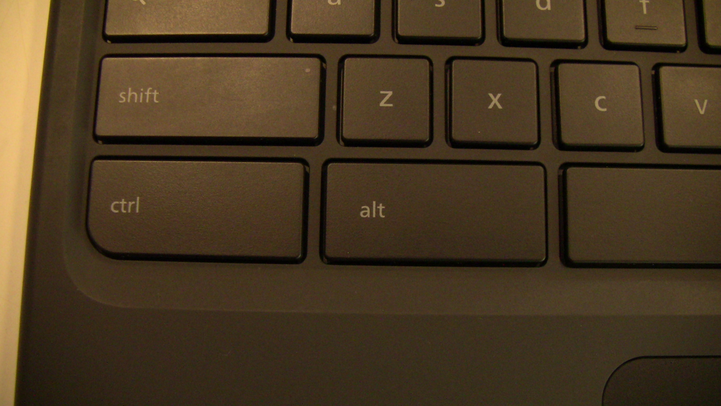 Cr-48 Left Side Ctrl & Alt Keys