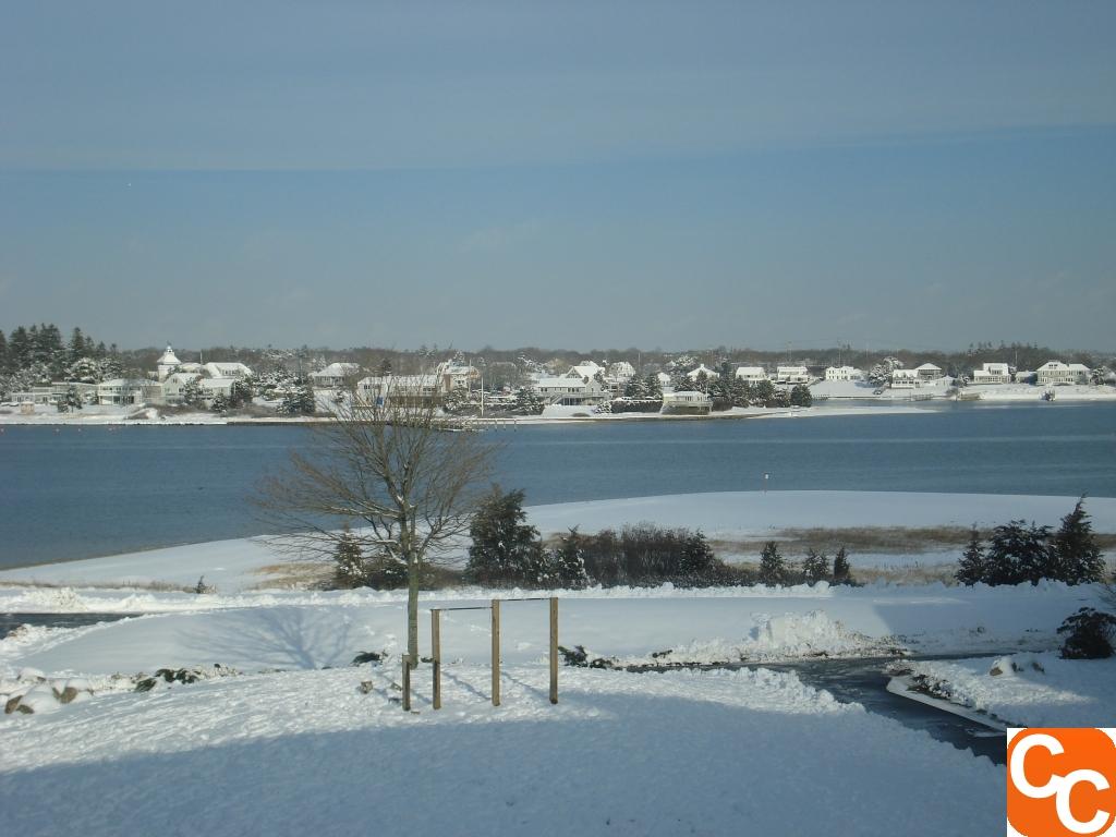 Snow at Mass Maritime
