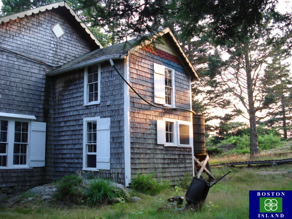 Our house on Boston Island