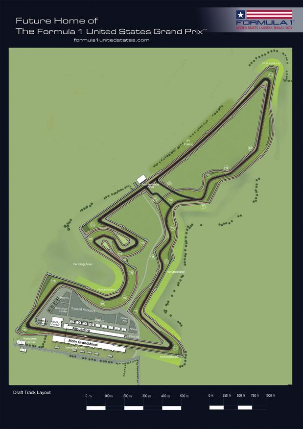 F1 Austin track