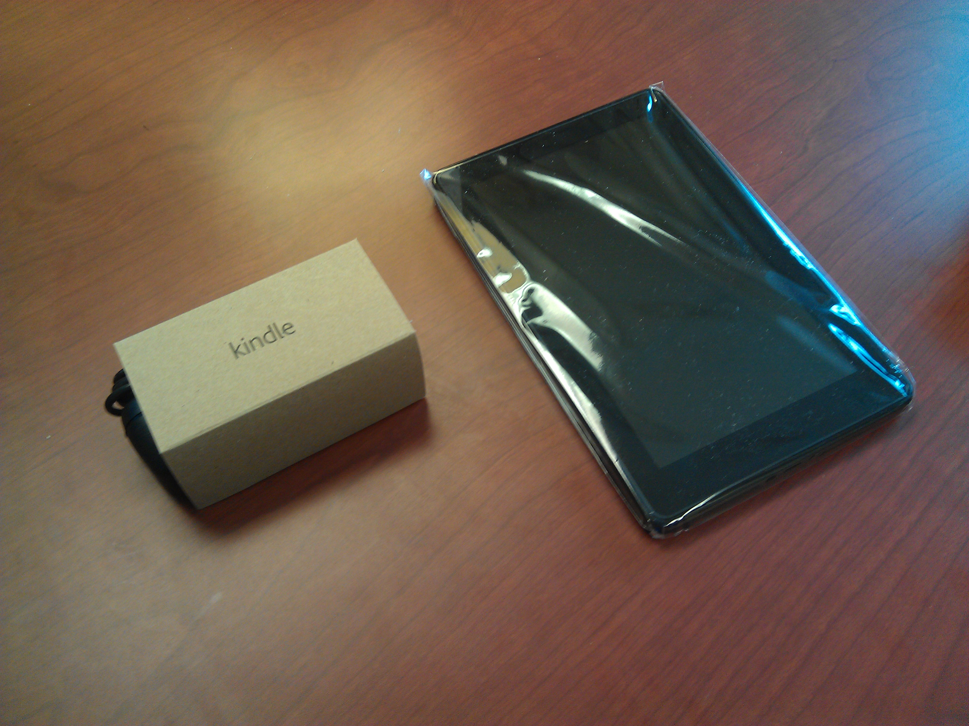 Kindle Fire and Charger