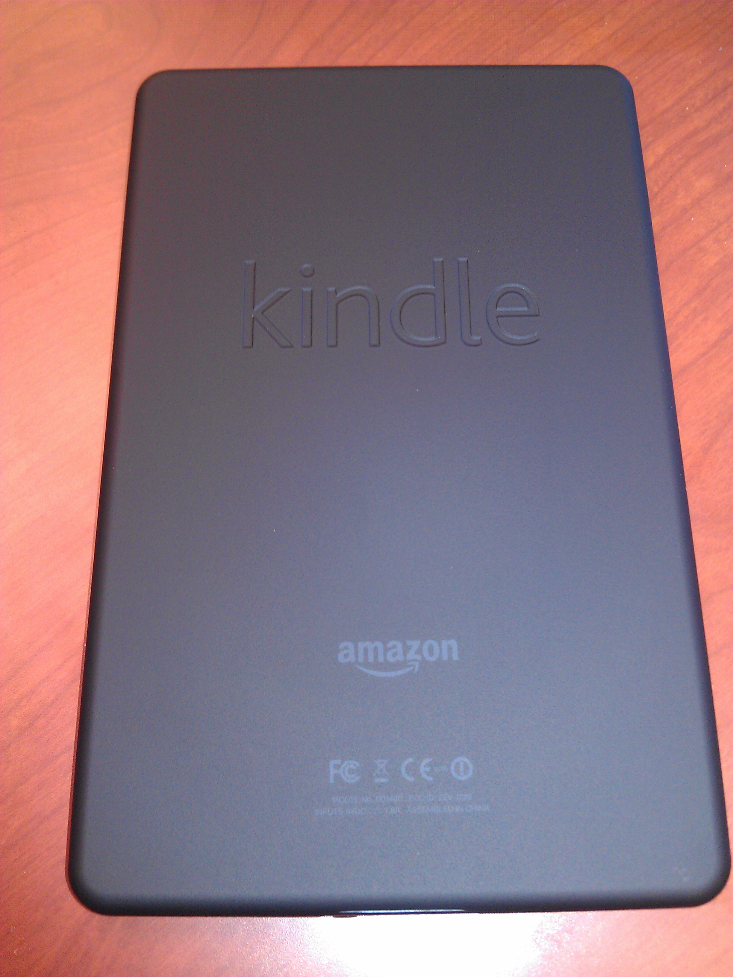 Kindle Fire Back