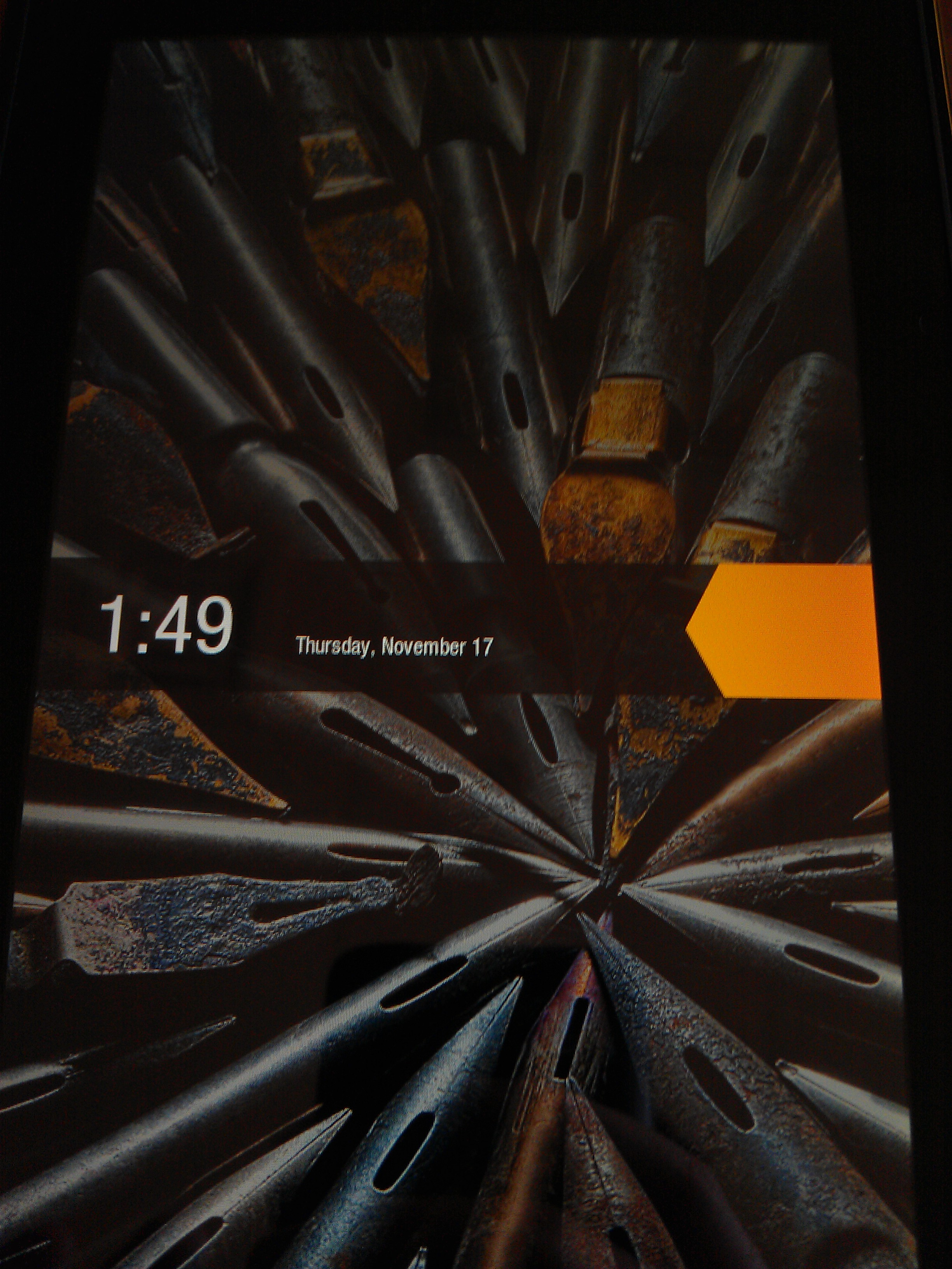 Kindle Fire Swipe Unlock