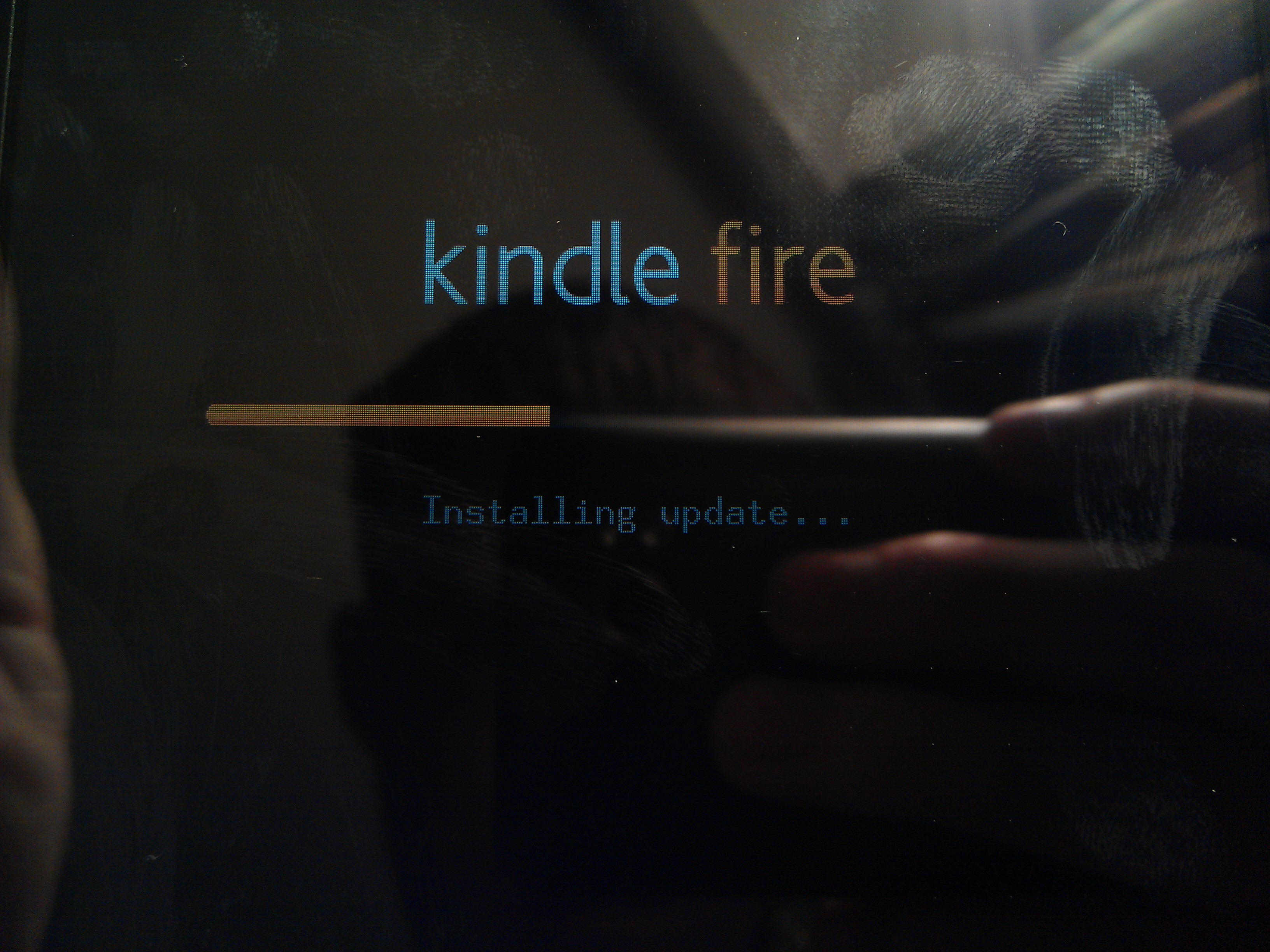 Kindle Fire Updating