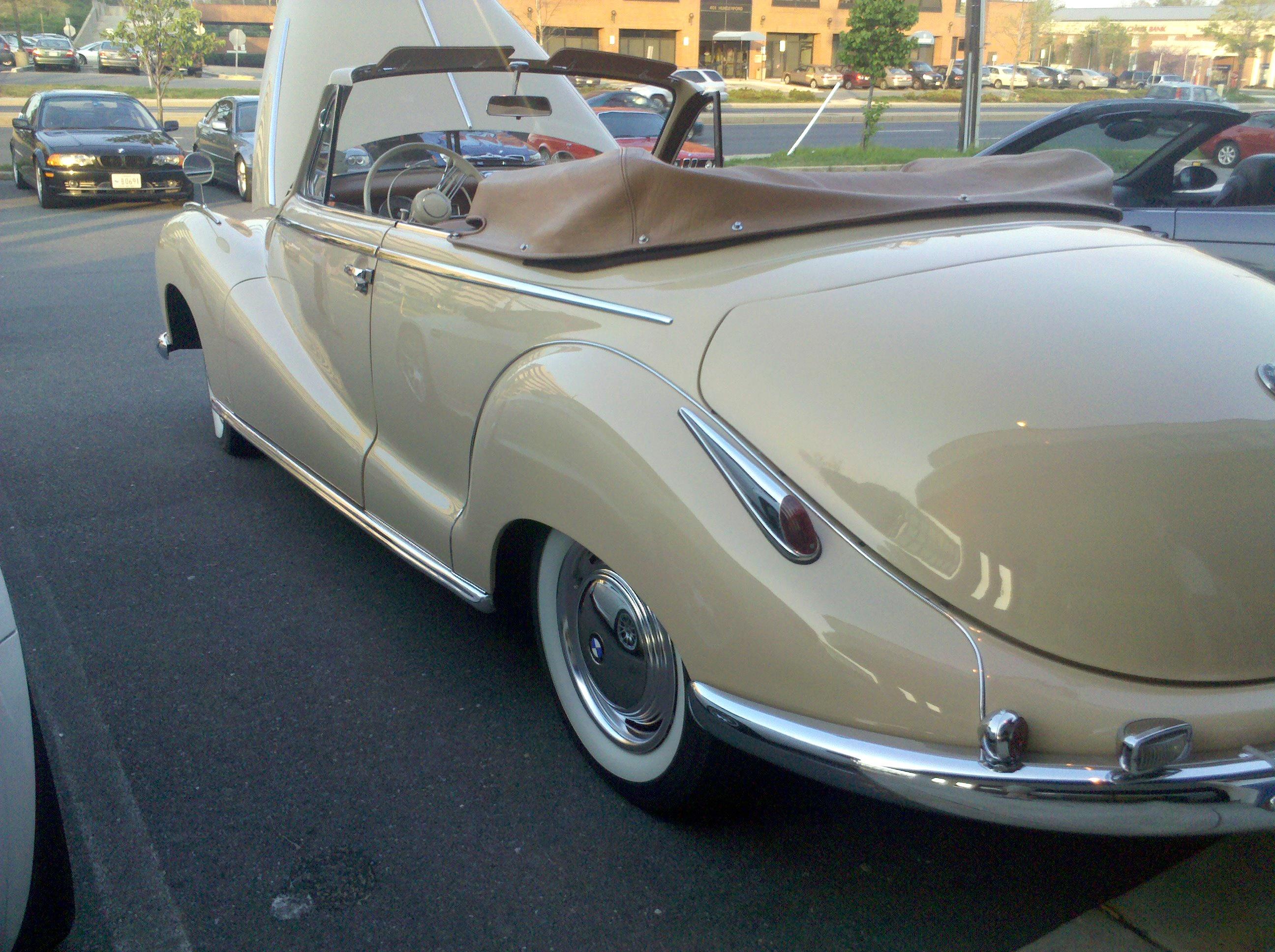 1956 BMW 502 Cabrio V8