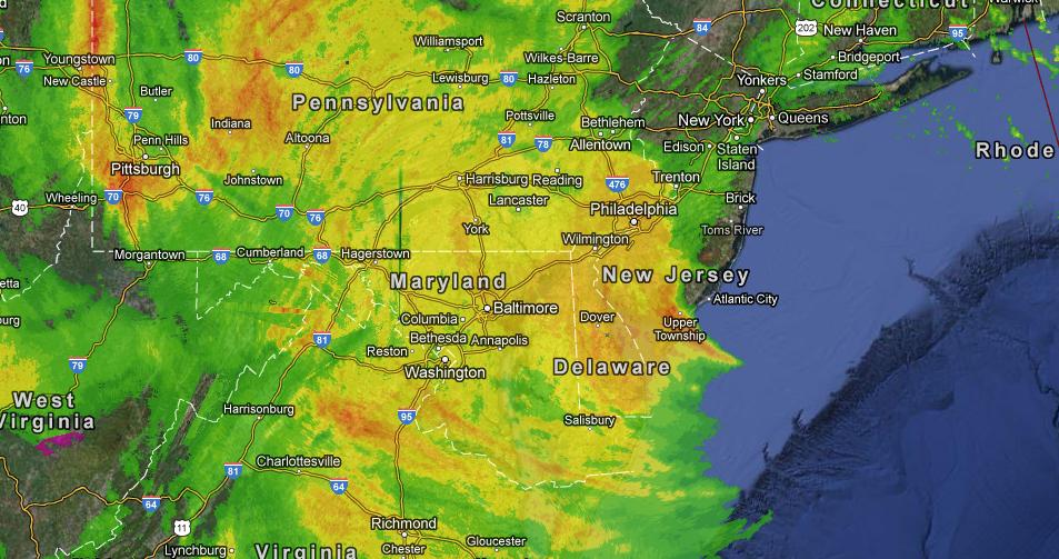 Sandy radar
