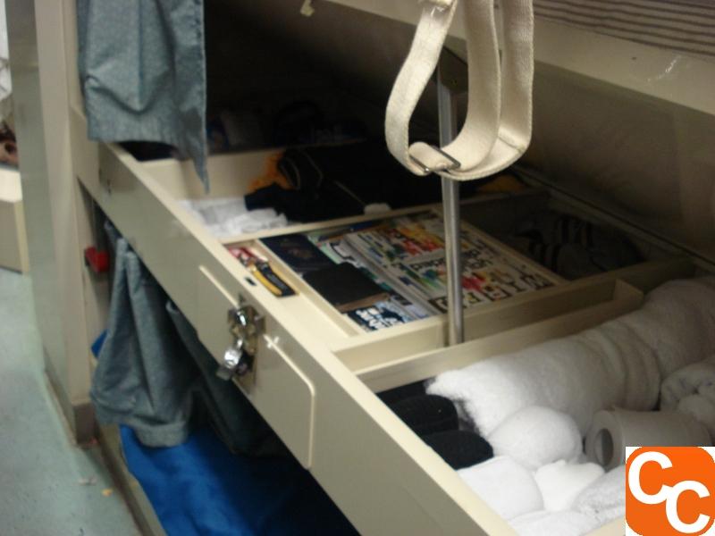 Storage under my rack