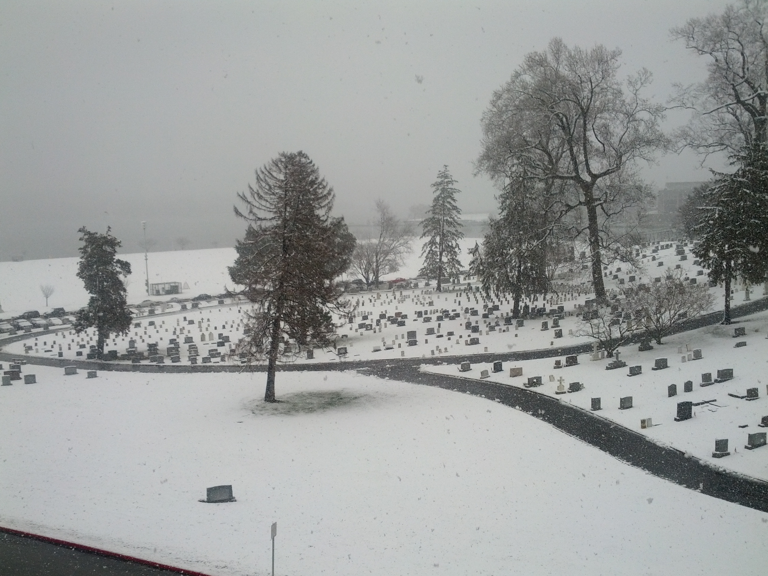 Snow at the U.S. Naval Academy