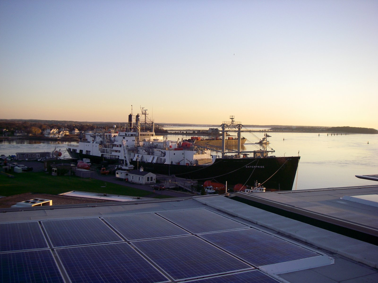 Solar panels at Mass Maritime