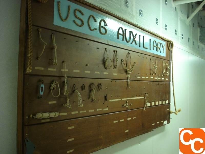 USCG Auxiliary knot board