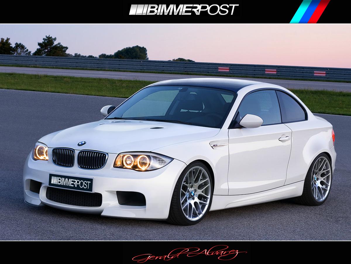 BMW 1M Rendering