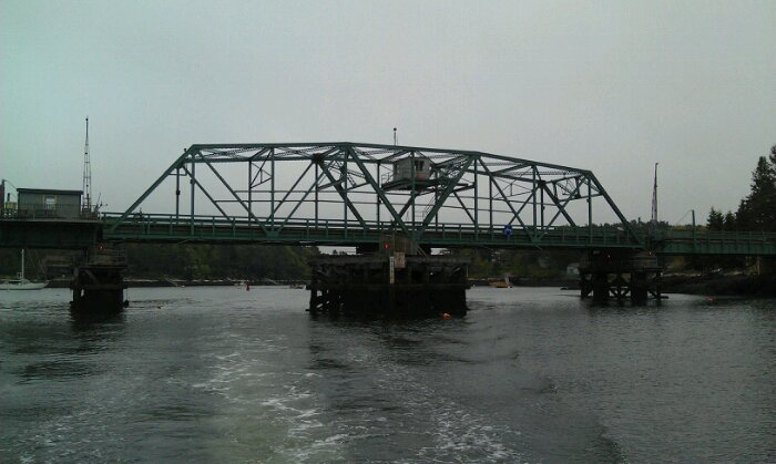 Southport swing bridge
