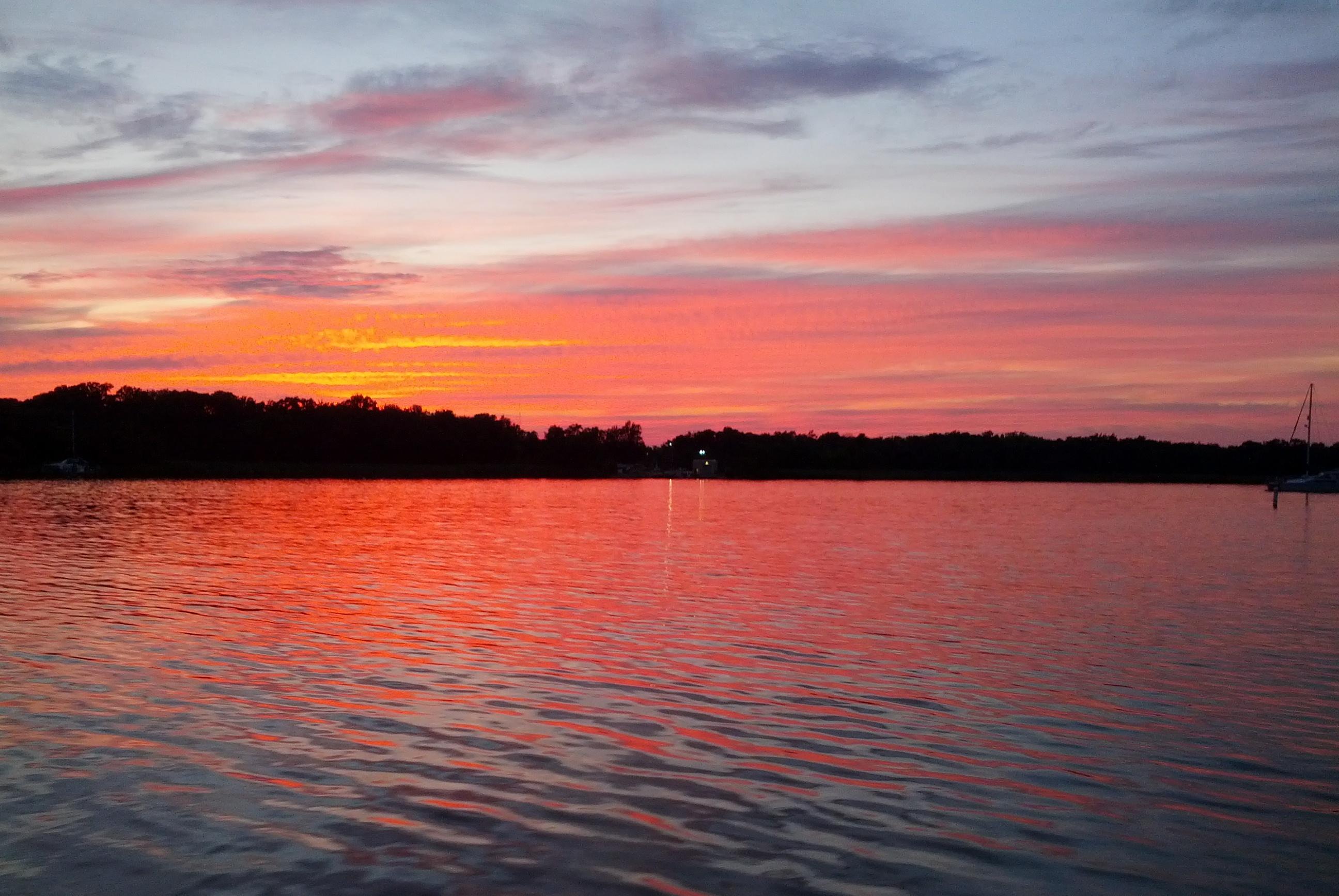 Sunset on the Chesapeake