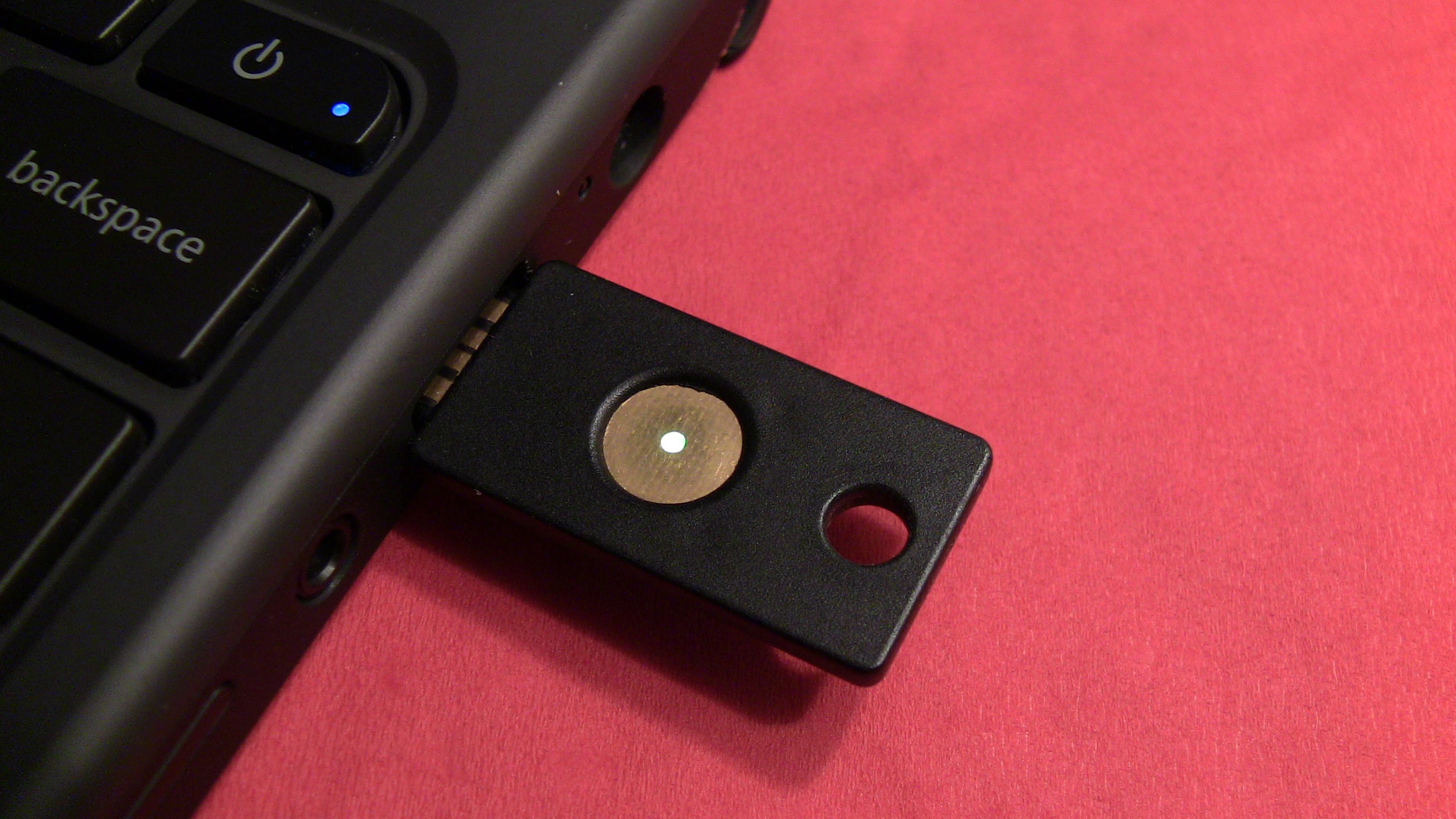 Yubikey in the Cr-48