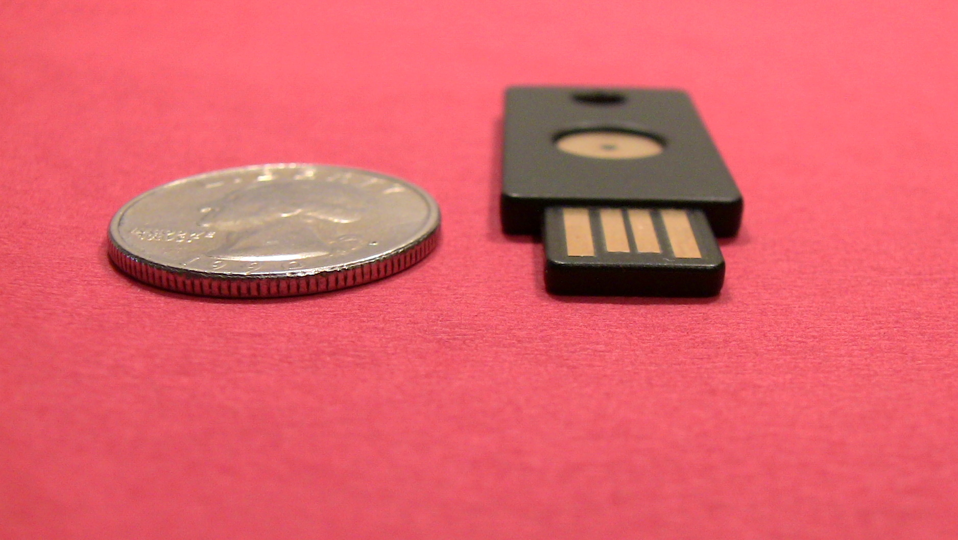 Yubikey Size Comparison